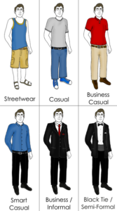 Business Casual Policy